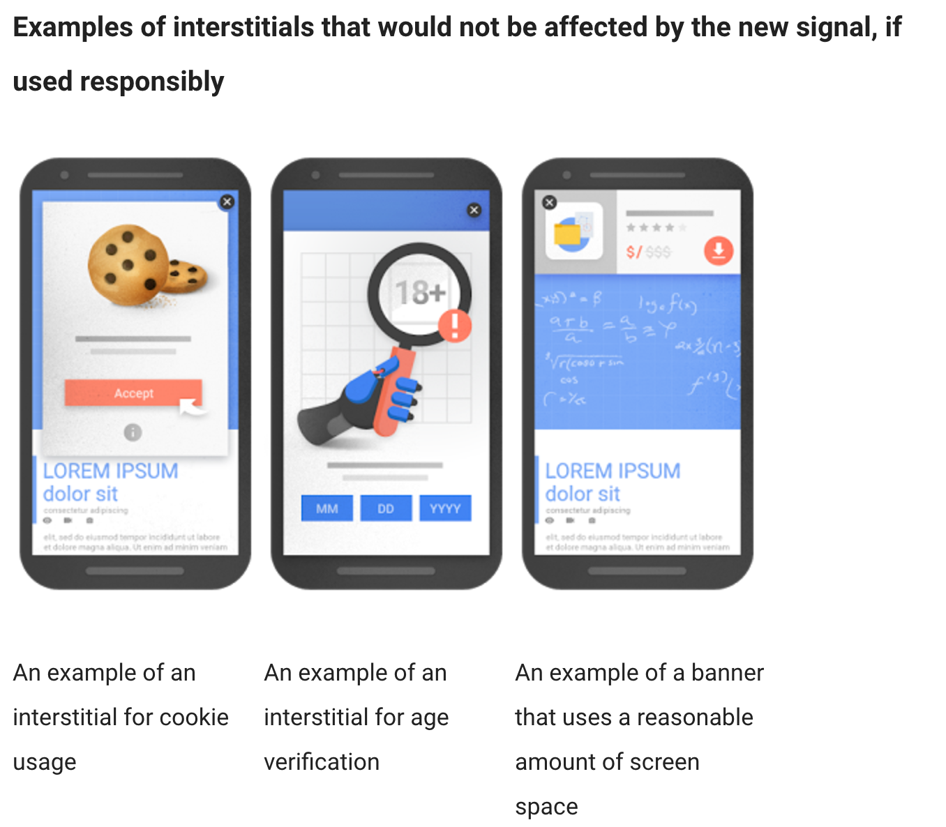 Good Mobile Examples