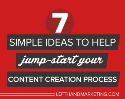 Jump-Start Your Content Creation